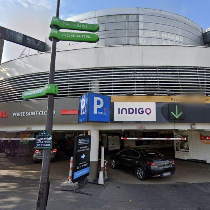 Parking Public INDIGO PORTE DE SAINT-CLOUD (Couvert) Paris