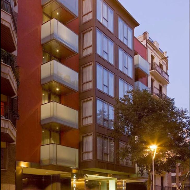 ZENIT BORRELL Hotel Parking (Overdekt) Barcelona