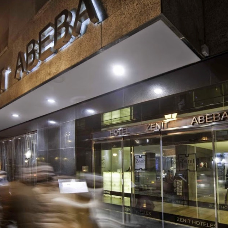 Estacionamento Hotel ZENIT ABEBA (Coberto) Madrid