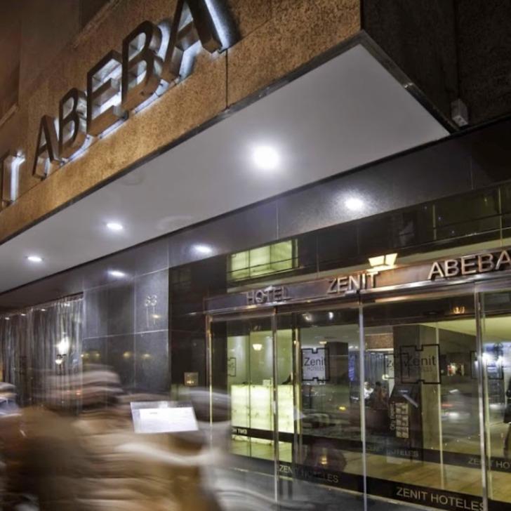 Parking Hotel ZENIT ABEBA (Cubierto) Madrid