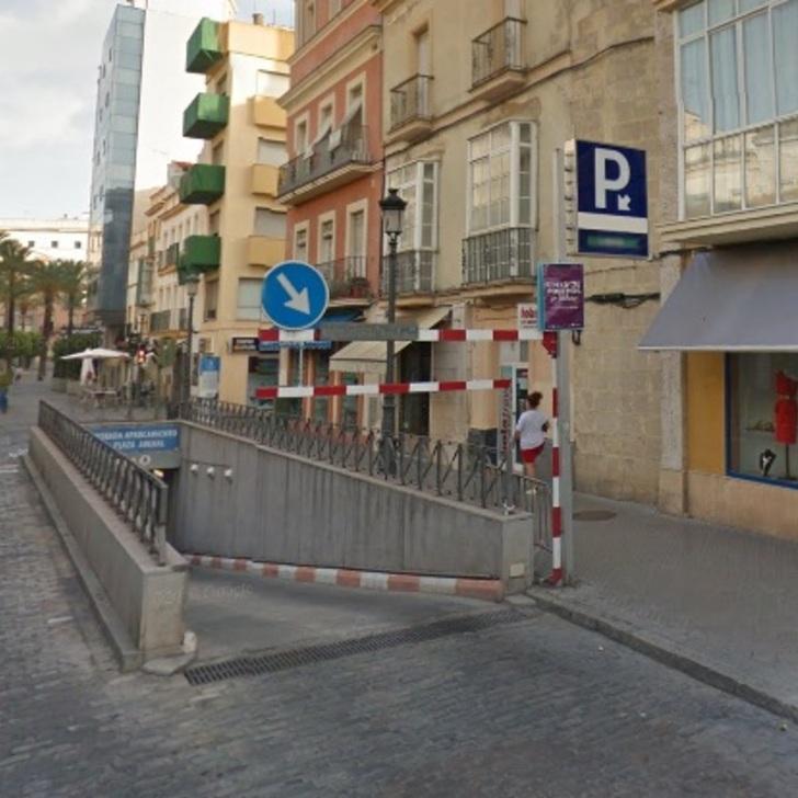 Parking Público APK PLAZA DEL ARENAL (Cubierto) Jerez de la Frontera, Cádiz