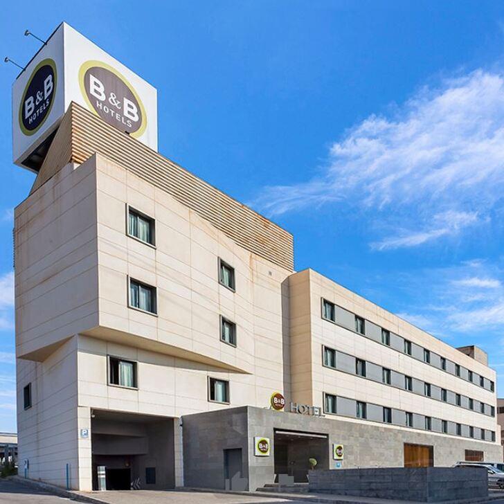 Estacionamento Hotel B&B ELCHE (Coberto) Elche, Alicante