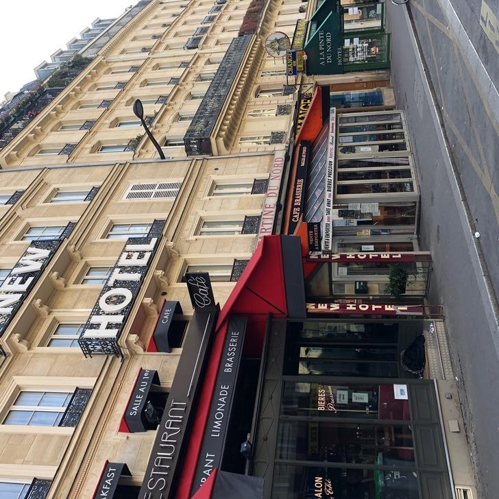 Estacionamento Hotel NEW HOTEL GARE DU NORD (Coberto) Paris