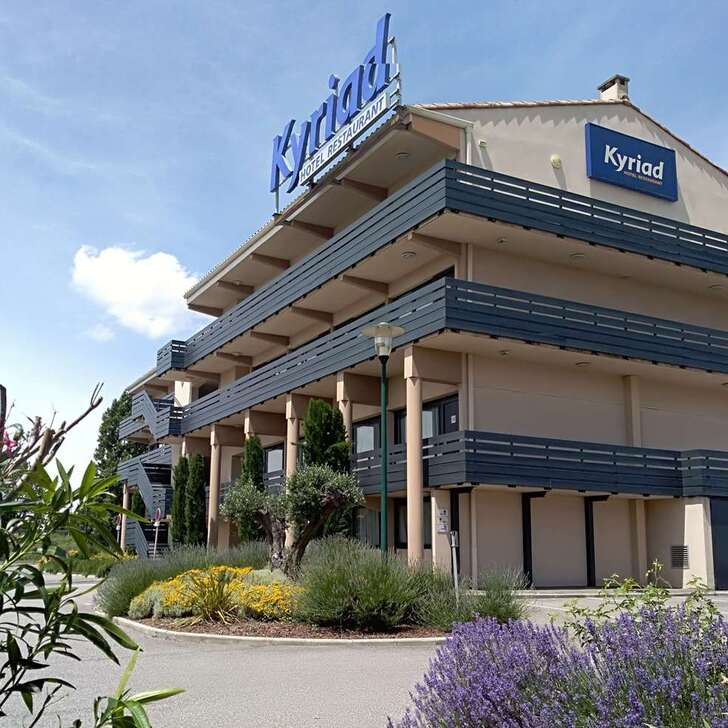 Parking Hôtel KYRIAD CARCASSONNE AÉROPORT (Extérieur) Carcassonne