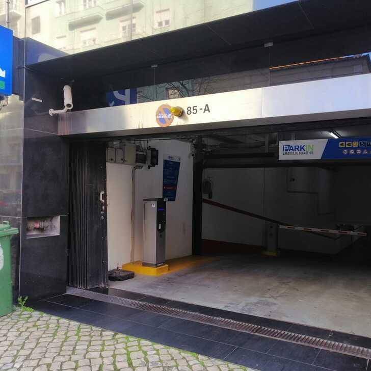 Parking Public PARKIN BARBOSA DU BOCAGE (Couvert) Lisboa