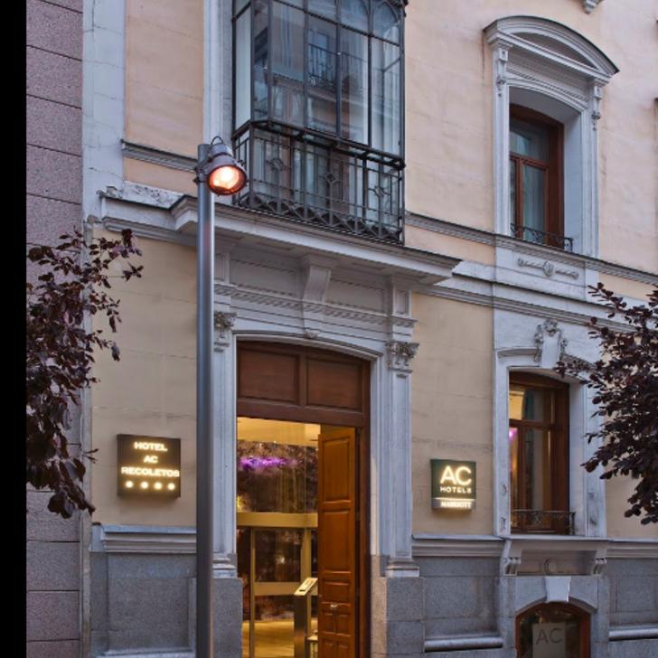 Parking Hotel AC RECOLETOS (Cubierto) Madrid