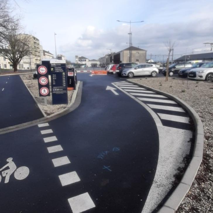 Parking Officiel EFFIA GARE DE CHÂTEAUROUX (Extérieur) Chateauroux
