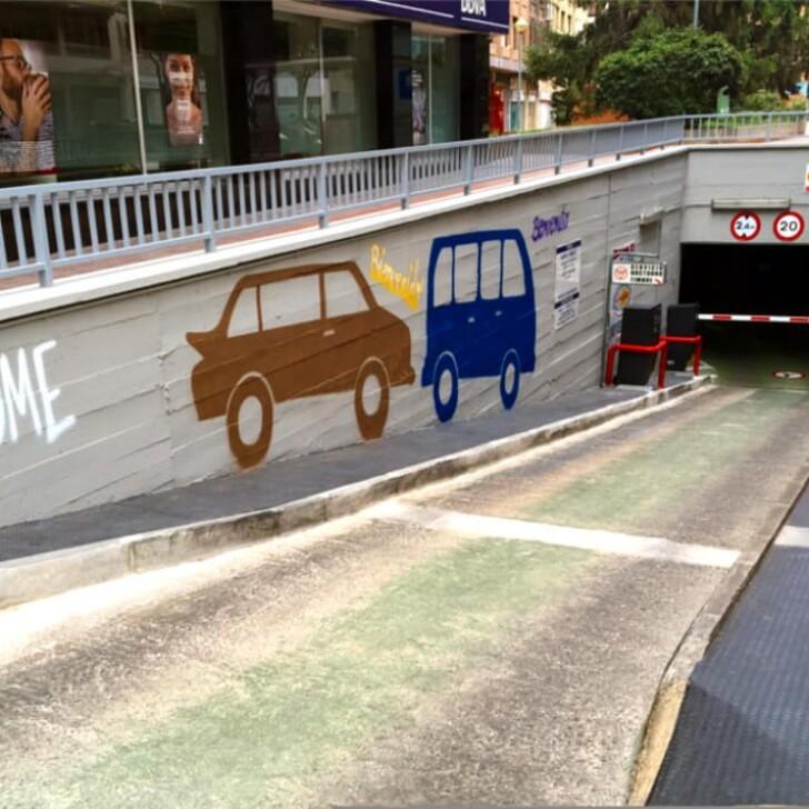 Parking Public APK PLAZA DE LA PAZ (Couvert) Logroño
