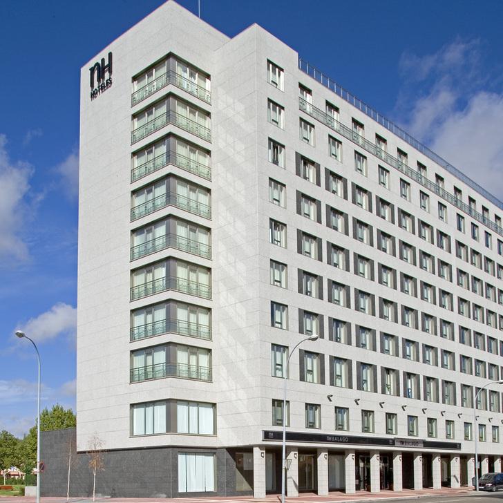 Parking Hôtel NH VALLADOLID BÁLAGO (Couvert) Valladolid