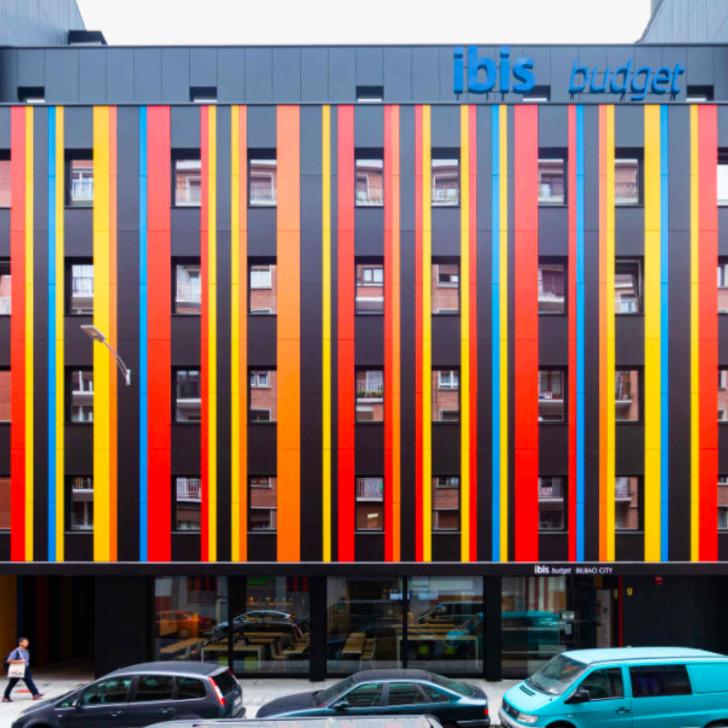 Estacionamento Hotel IBIS BUDGET BILBAO CITY (Coberto) Bilbao