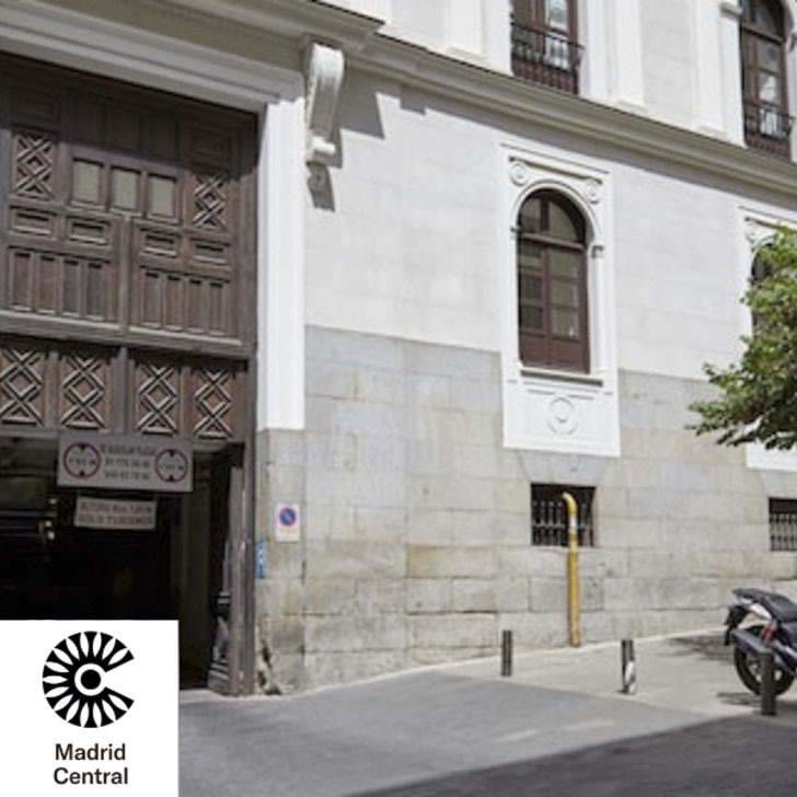 Parking PALACIO DE LOS DUQUES (Cubierto) Madrid