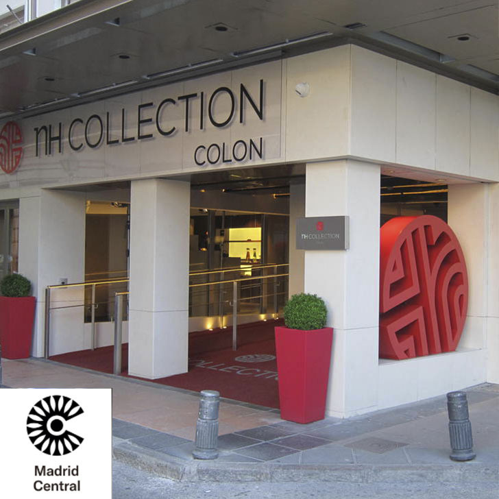 Parking Hotel NH COLLECTION MADRID COLÓN (Cubierto) Madrid