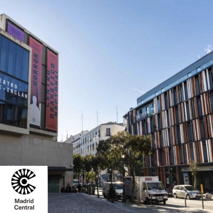 Parking Hotel IBIS BUDGET MADRID CENTRO LAVAPIES (Cubierto) Madrid