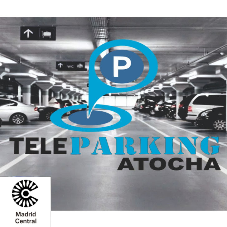 TELEPARKING ATOCHA Valet Service Parking (Overdekt) Madrid