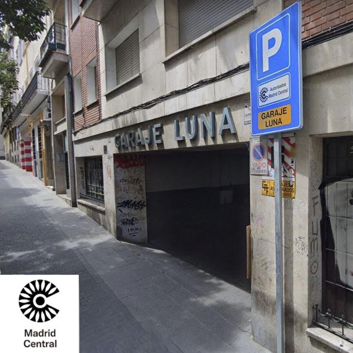 Parking Público GARAJE LUNA (Cubierto) Madrid
