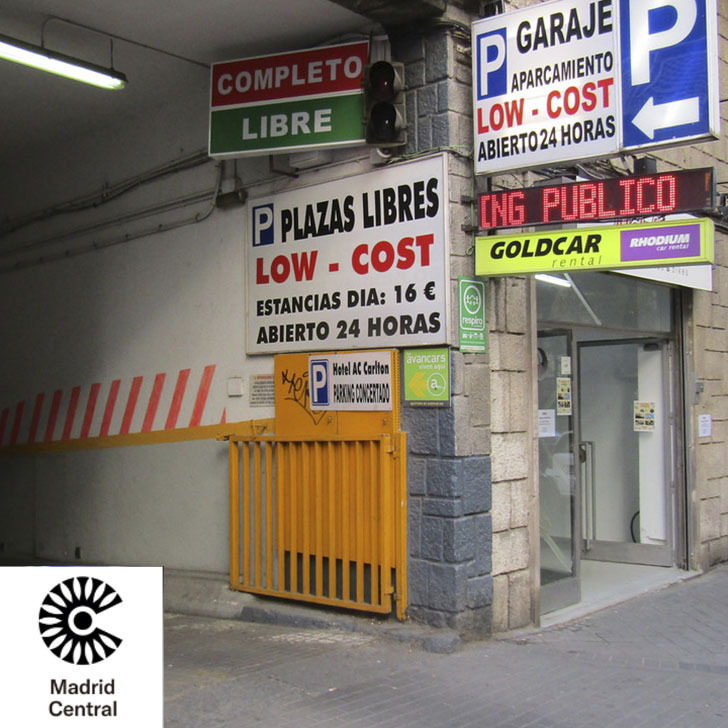 Parking Public ATOCHA LOWCOST (Couvert) Madrid