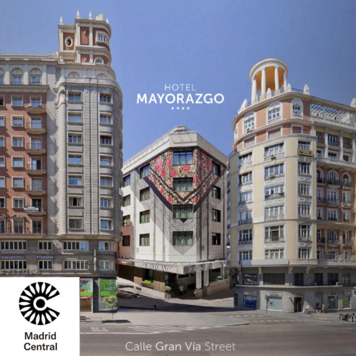 Estacionamento Hotel MAYORAZGO (Coberto) Madrid