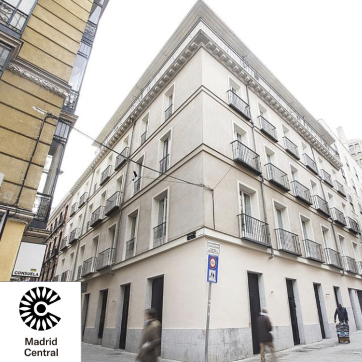 Parking Hôtel LH GRAN VIA  SELECTION (Couvert) Madrid