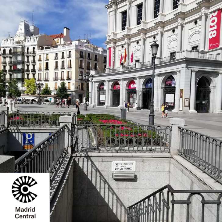 Parking Público APK PLAZA DE ORIENTE (Cubierto) Madrid