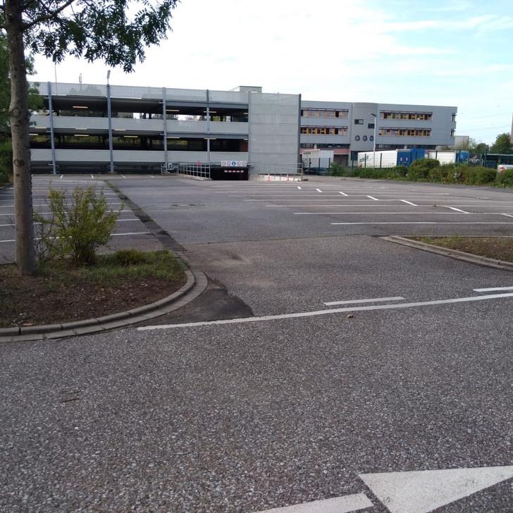 Estacionamento Low Cost FLUGPARK DUS (Exterior) Ratingen
