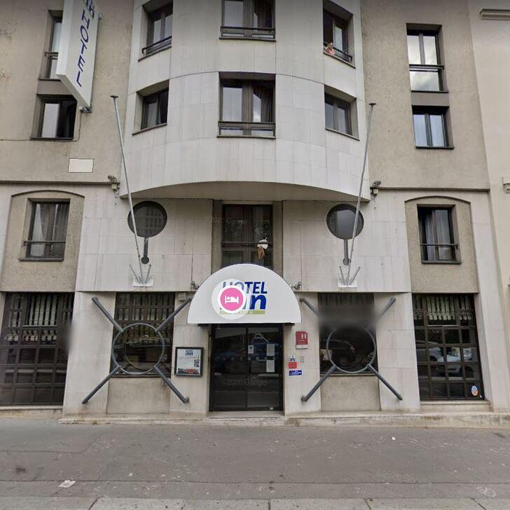 Parking Hotel INN (Cubierto) Paris