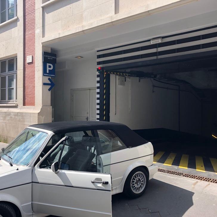 Parking Hotel COURTYARD BY MARRIOTT PARIS BOULOGNE (Cubierto) Boulogne-Billancourt