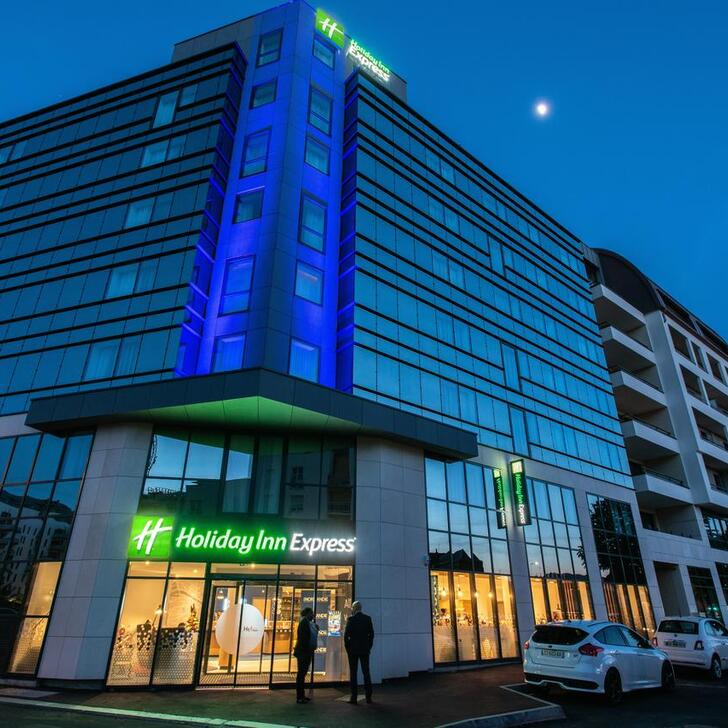 Estacionamento Hotel HOLIDAY INN EXPRESS ROUEN CENTRE - RIVE GAUCHE (Coberto) Rouen
