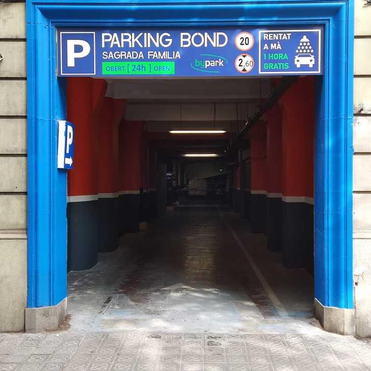 Parking Público BOND SAGRADA FAMILIA (Cubierto) Barcelona
