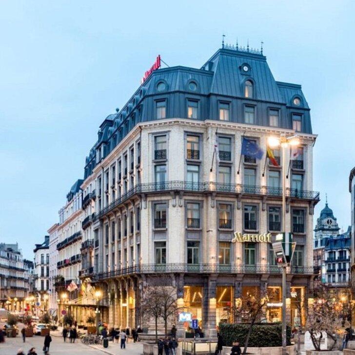 Parking Hôtel MARRIOTT BOURSE GRAND PLACE BRUSSELS (Couvert) Bruxelles