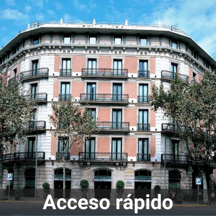 Parking Hotel NH COLLECTION BARCELONA PÓDIUM (Cubierto) Barcelona