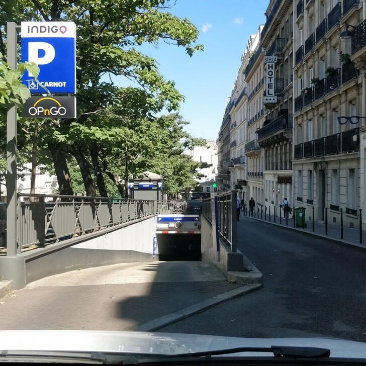 Parking Público INDIGO CARNOT (Cubierto) Paris
