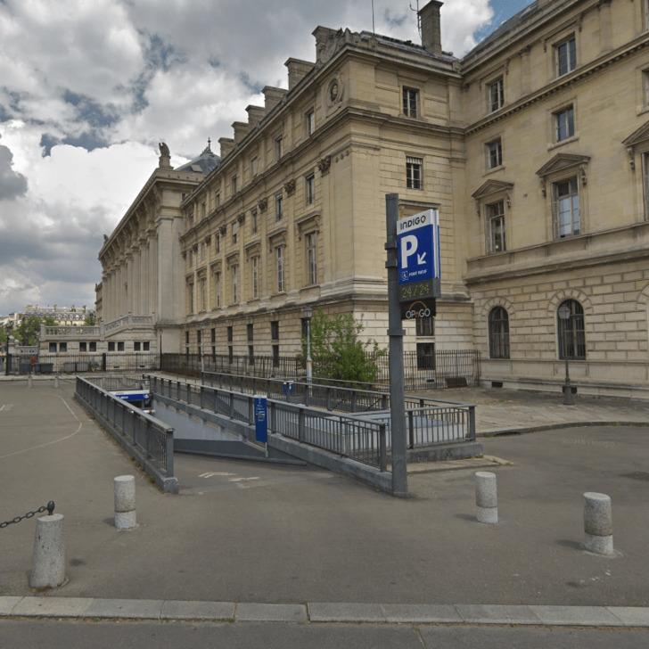 Parking Public INDIGO HARLAY PONT NEUF (Couvert) Paris