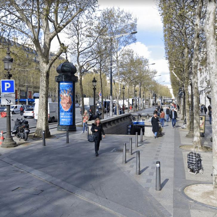 Parking Public INDIGO CHAMPS ELYSÉES (Couvert) Paris
