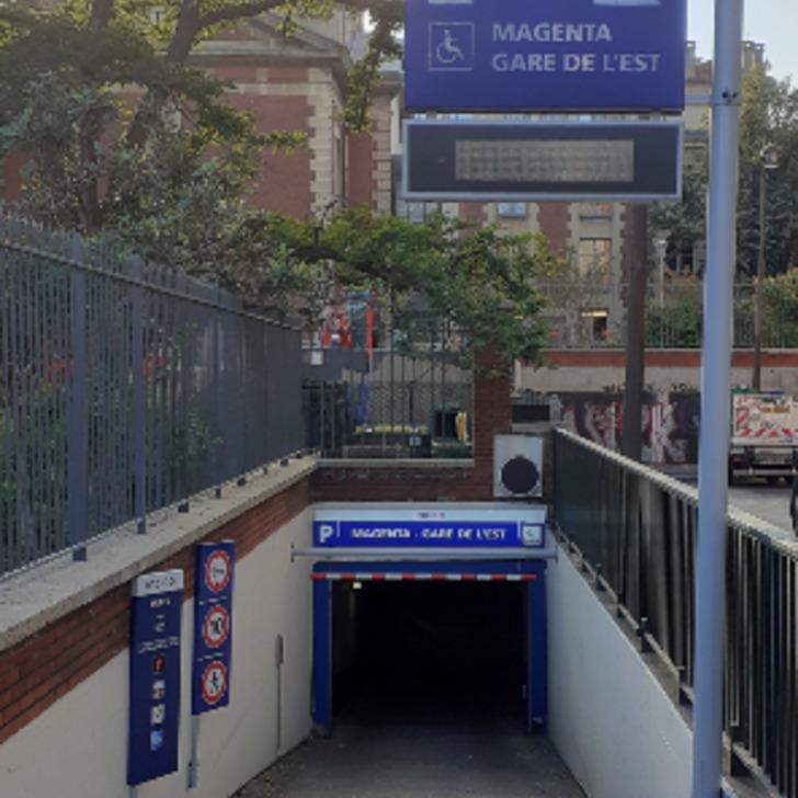 Parking Público INDIGO MAGENTA - GARE DE L'EST (Cubierto) Paris