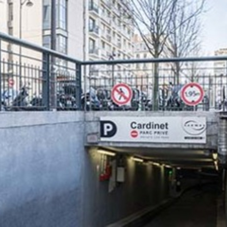 Parking Immeuble SAEMES CARDINET ABONNEMENT (Couvert) Paris