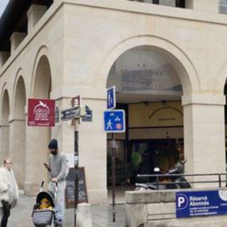 Parking Immeuble SAEMES MARCHÉ SAINT-GERMAIN ABONNEMENT (Couvert) Paris