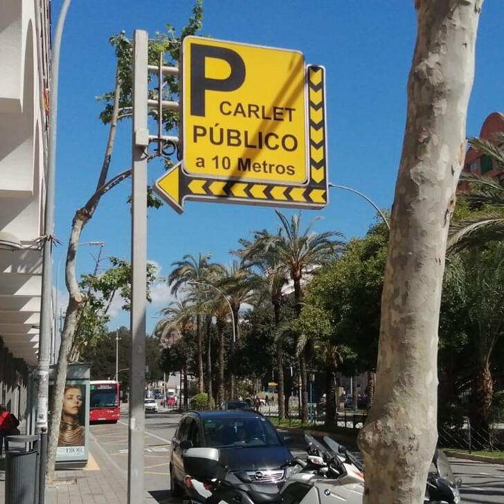 Parking Público APK AVE CARLET (Cubierto) Alicante