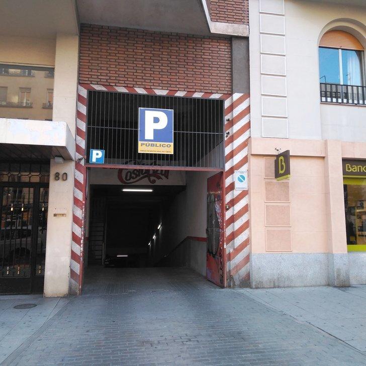 Parking Público PARKING NARVAEZ 80 (Cubierto) Madrid