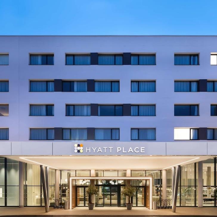 Parking Hôtel HYATT PLACE & HOUSE PARIS CHARLES DE GAULLE AIRPORT (Extérieur) Roissy-en-France
